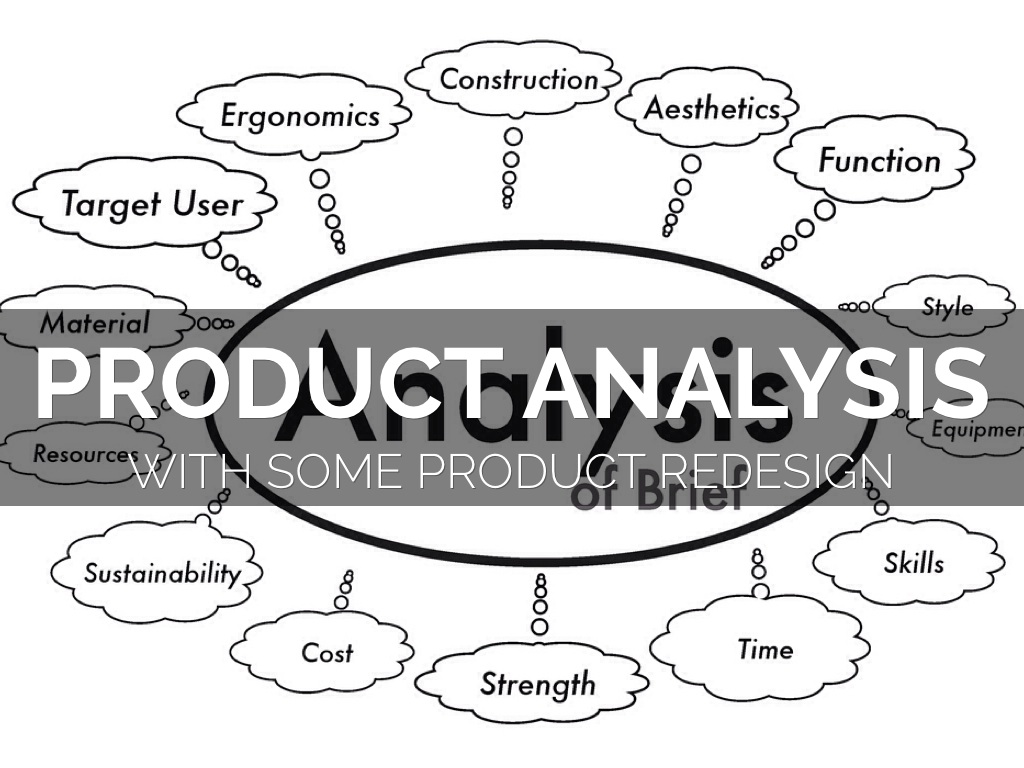 Product Analysis by Darren Pearson