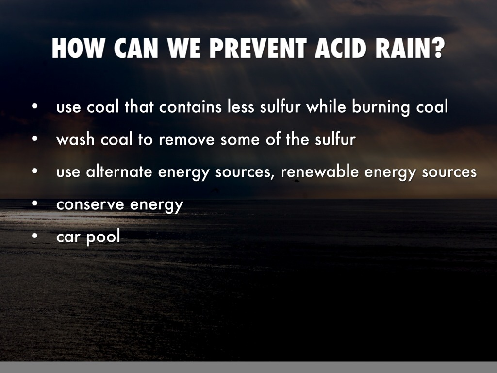 acid rain prevention essay Scientists have discovered that air pollution from burning of fossil fuels is the major cause of acid rain the main chemicals in air pollution that create acid rain are sulfur dioxide (so2) and nitrogen (nox.