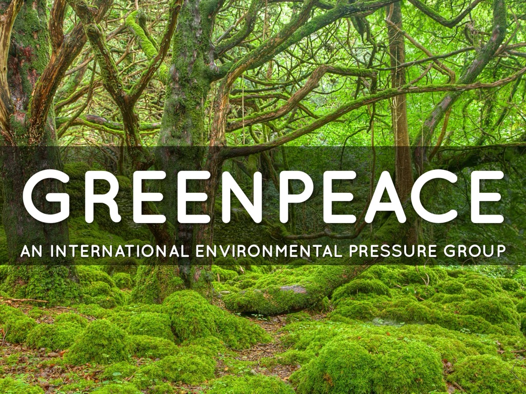 a look at the history and formation of the greenpeace environmental organization The importance of responsible nutrient management to the  we will set the table and look at the history of  management is the organization and coordination of.