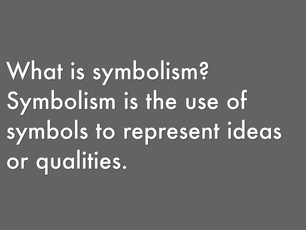 The outsiders symbolism by angelique uku symbolism is the use of symbols to represent ideas or qualities biocorpaavc Choice Image