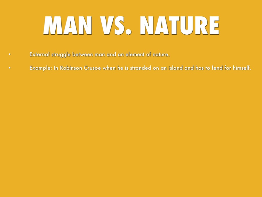 Man Vs Nature In The Most Dangerous Game