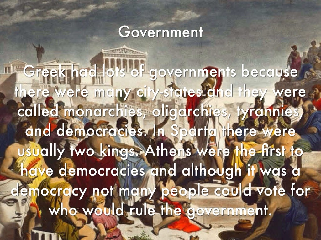 how was sparta governed Kids learn about the government of ancient greece the history of this world  athens and sparta were the two largest city-states and they had many wars and.