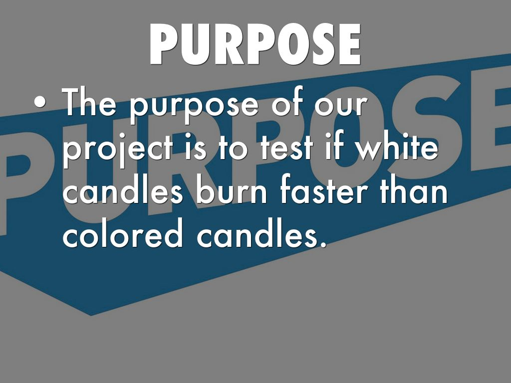 Do White Candles Burn Faster Then Colored Candles by