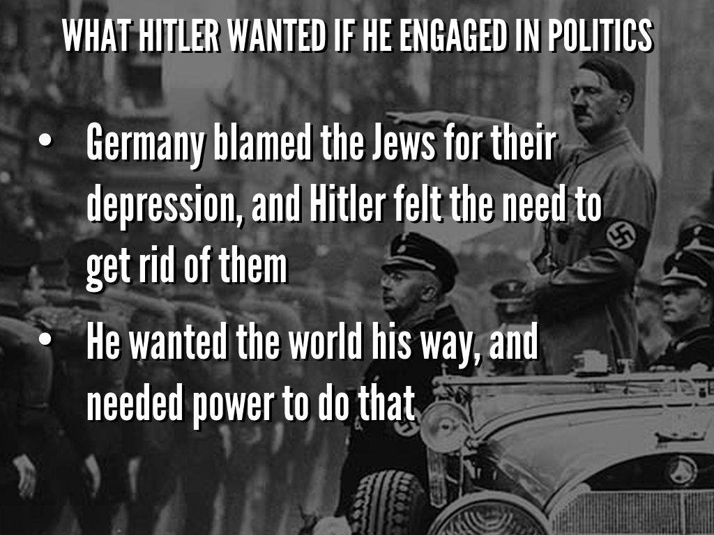 Hitler's Rise To Power by Mallory Lang