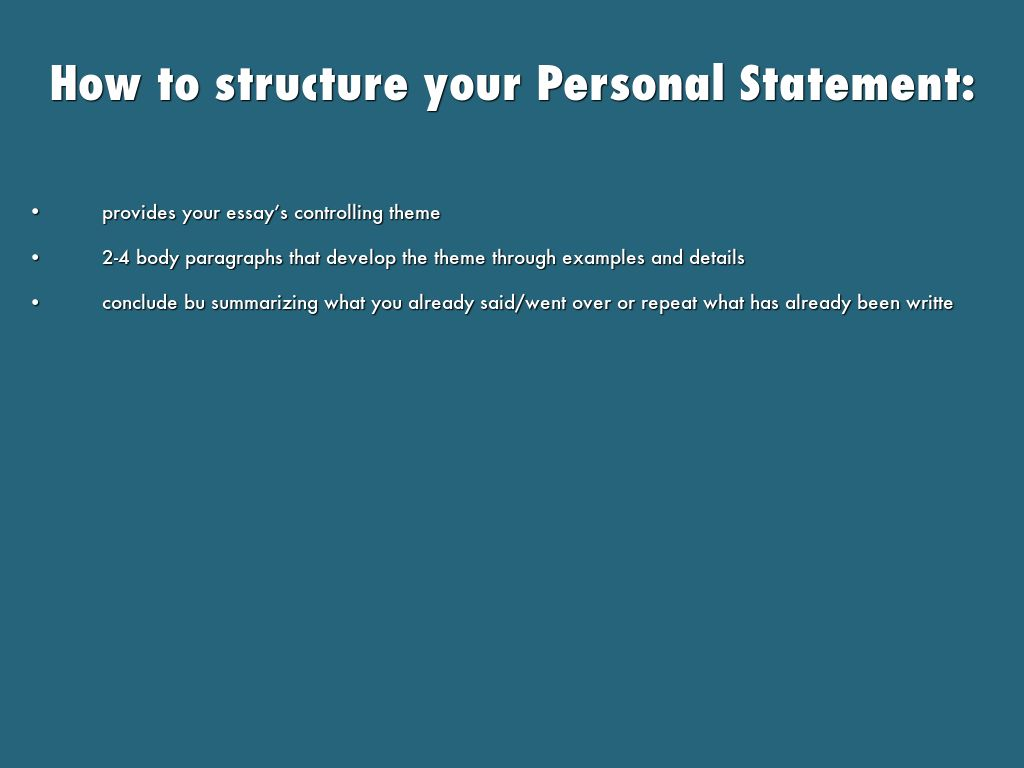 controlling statement essay Writing a statement of controlling purpose your statement of controlling purpose is an assumption about your topic, a premise to be supported, and a controlling idea that will determine for what kind of material you look.