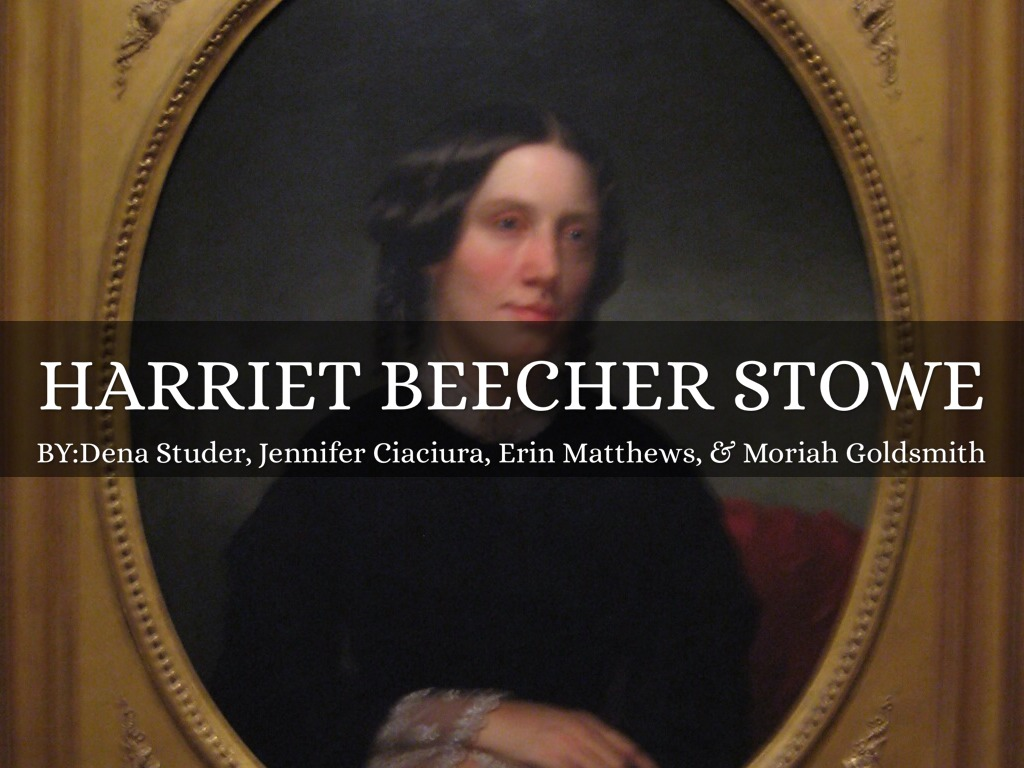 harriet beecher stowe essays Early years and education harriet beecher was born in litchfield, connecticut,   mostly short, lighthearted, often satirical prose sketches and essays or verse.