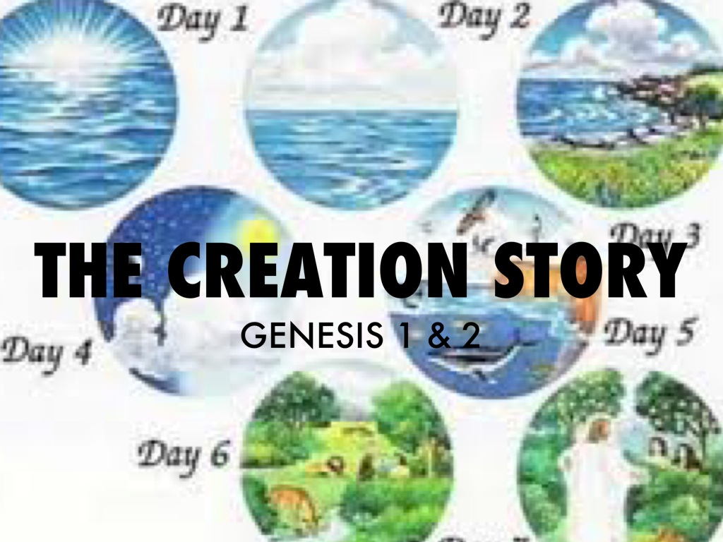 the two differing stories of creation in the book of genesis in the bible (the bible i am using is the nlt bible, but i checked online and other versions are pretty much the same for this including the kjv) so at the beginning of genesis (genesis 1:1-1:31) we get an account of how god created the world in seven days.