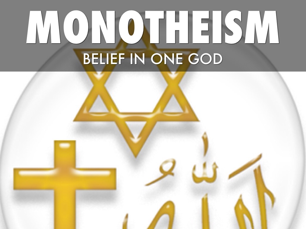 monotheism single supreme god The word most often used for god in the hebrew bible is elohim  bible affirms  that many beings exist in the same elohim class as the one supreme elohim.