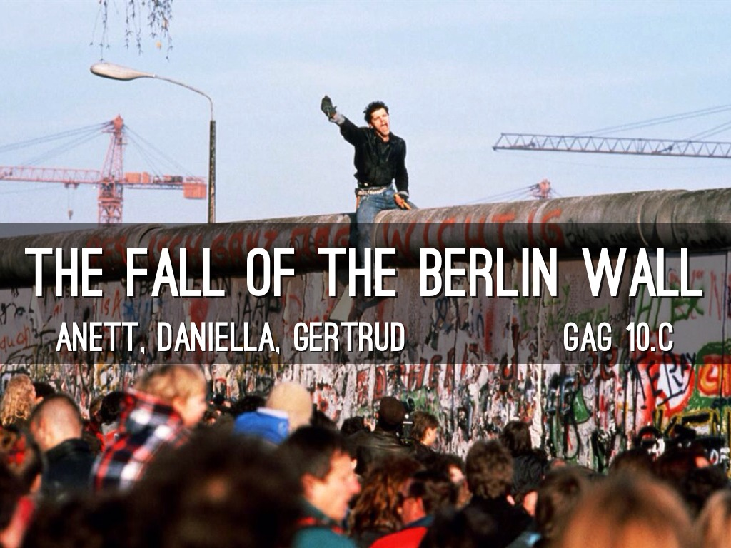 fall of the berlin wall essays World history dbqs search this site home assignment cold war dbq enlightenment football dbq answer the question above in a multi-paragraph essay response personal account of the fall of the berlin wall.