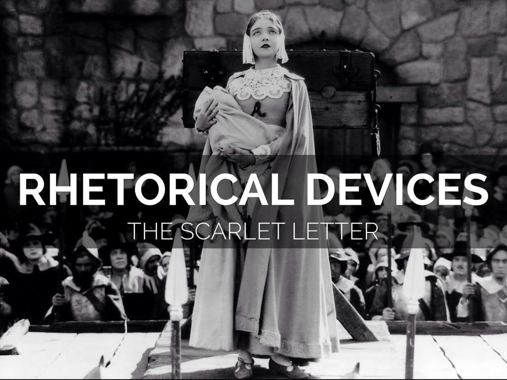 scarlet letter rhetorical devices essay