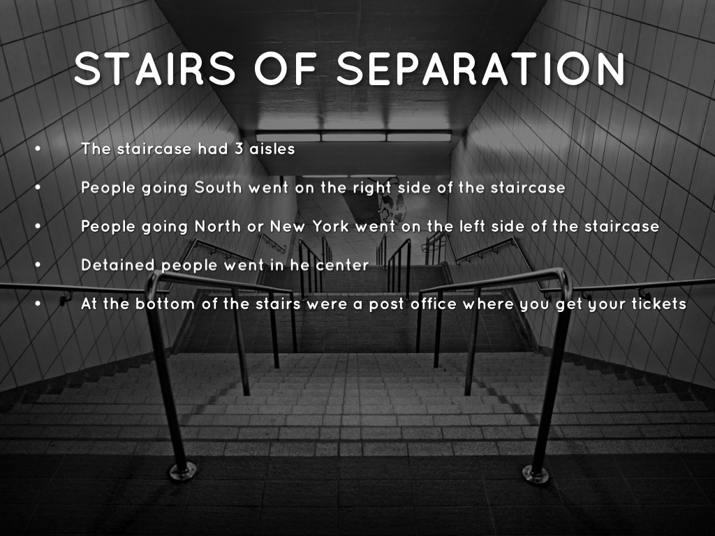 Stairs Of Separation A Ellis Island