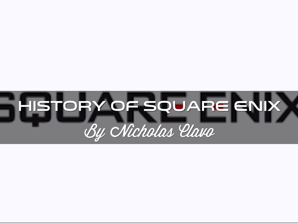 History Of Square Enix