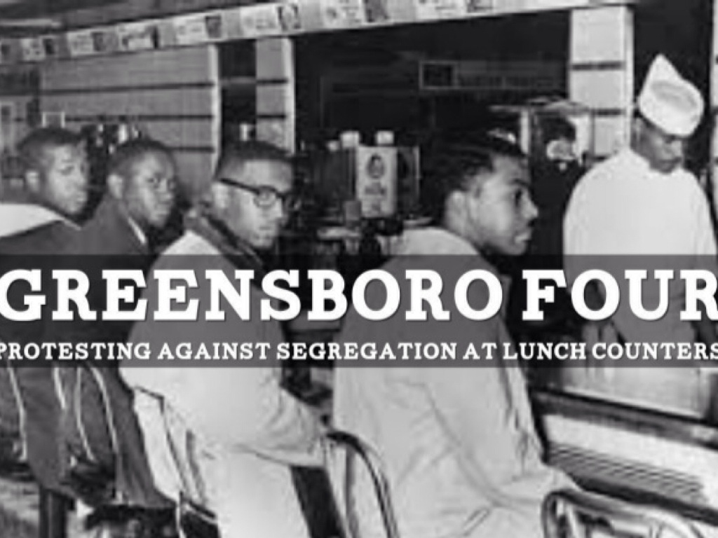 greensboro four Joseph alfred mcneil is one of the original four who took part in the woolworth sit-in on february 1, 1960 in greensboro, north carolina joseph alfred mcneil was.