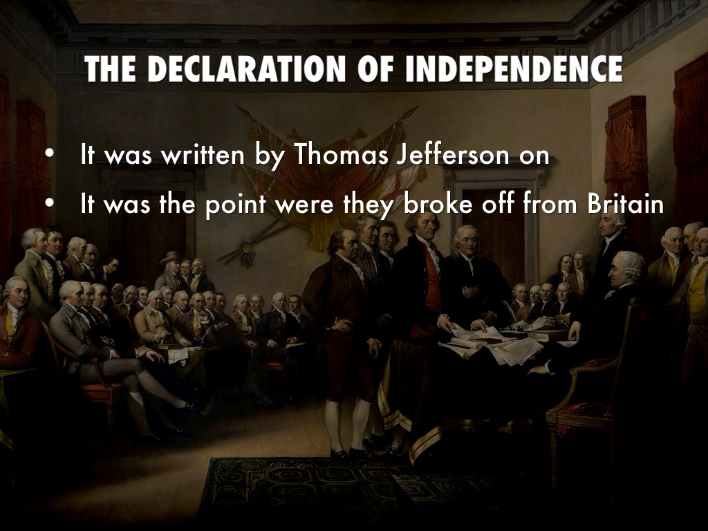 """the declaration of independence by thomas jefferson essay In """"the declaration of independence"""" thomas jefferson calls for the separation of the american colonists from the grips of an abusive and tyrannical england he makes his position clear to the colonist and most importantly the world by using persuasive appeals, syntax and diction."""