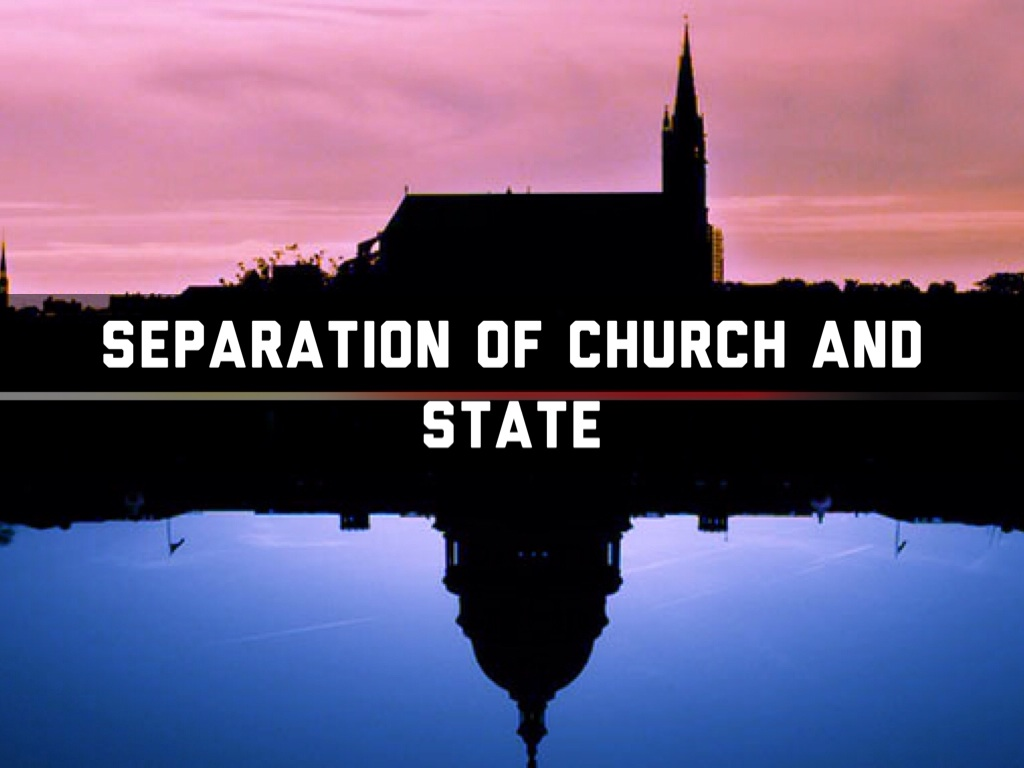 Separation of church and state gay