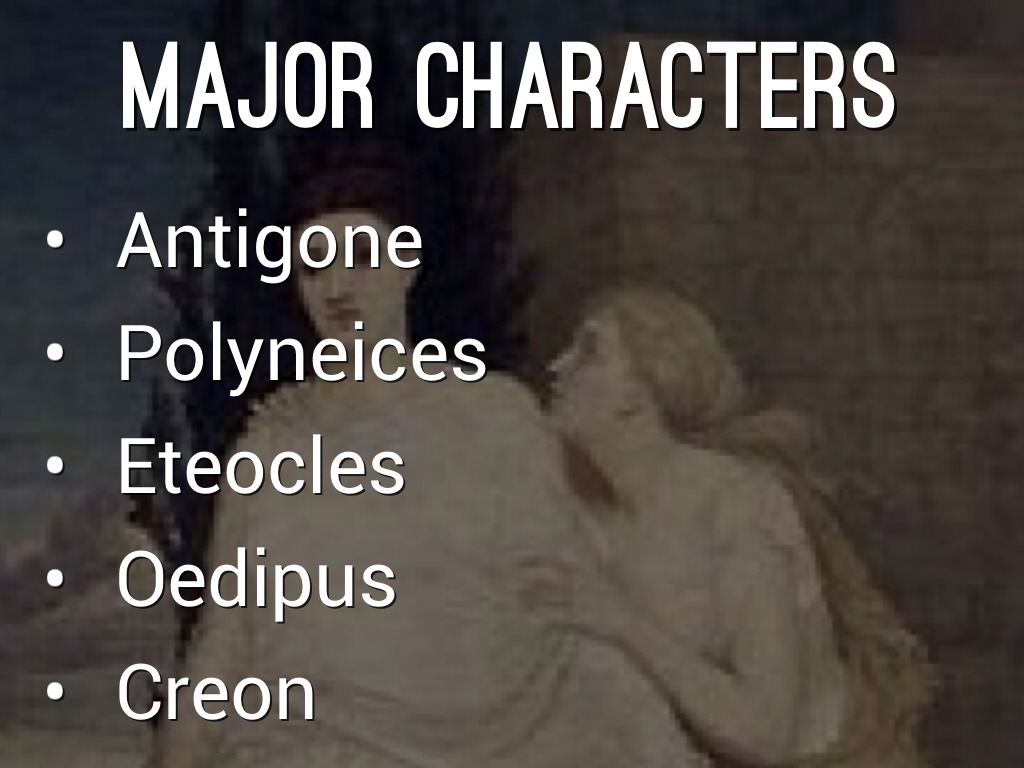 essay about antigone and creon Antigone is a greek tragedy that focuses on creon the king of thebes and also the protagonist of the tragedy and antigone the woman who defies creon creon is the noble king and his downfall begins with his humanistic beliefs which he deems to be the law and antigone, the one who defies creon's orders based on her beliefs.