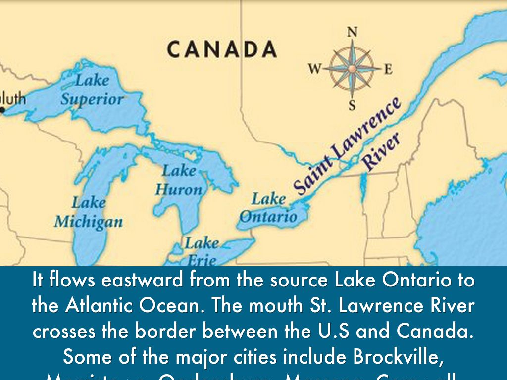 St Lawrence River World Map.St Lawrence River By M Mohammed