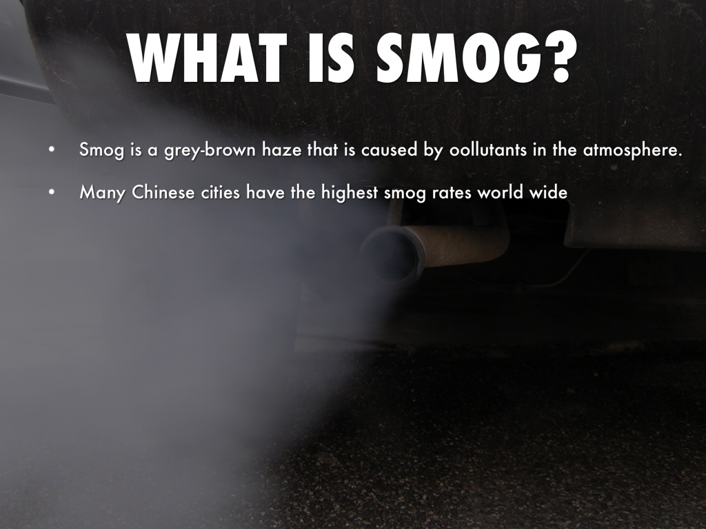 What is smog