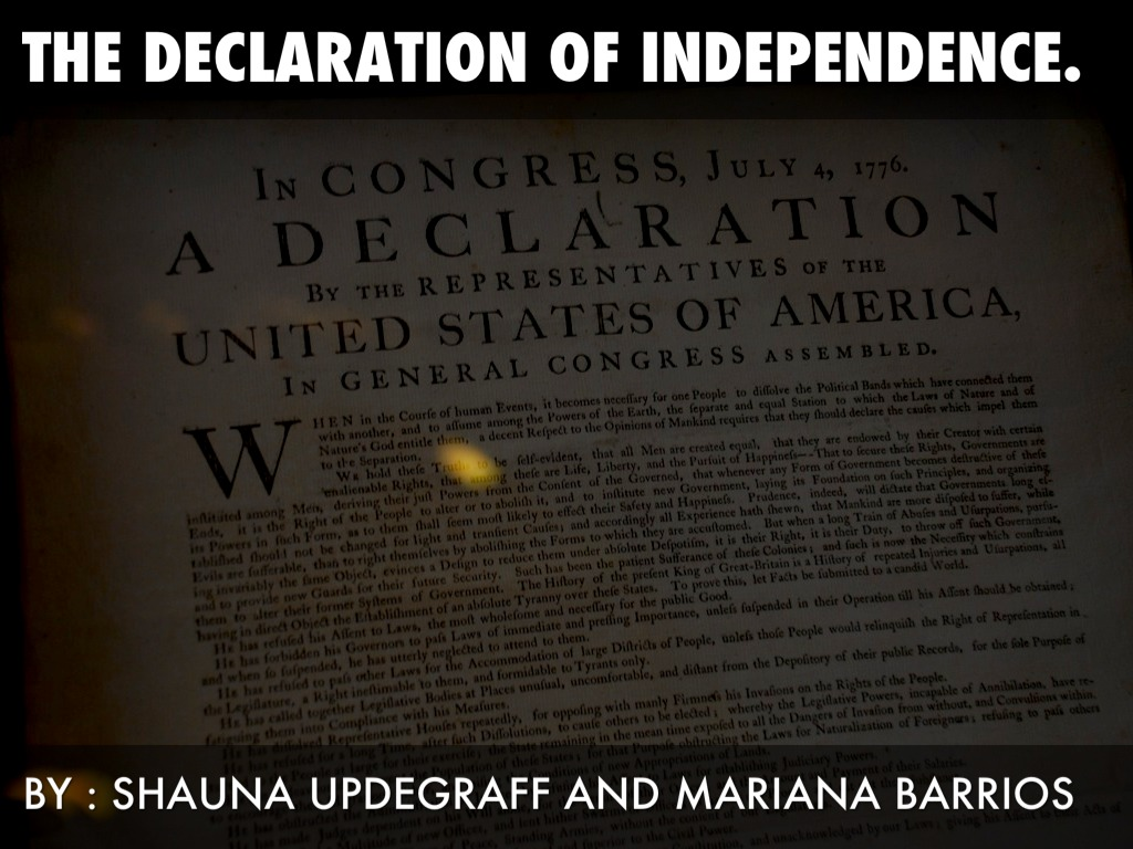 declaration of independence tyranny