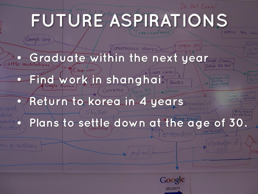 essays on future plans