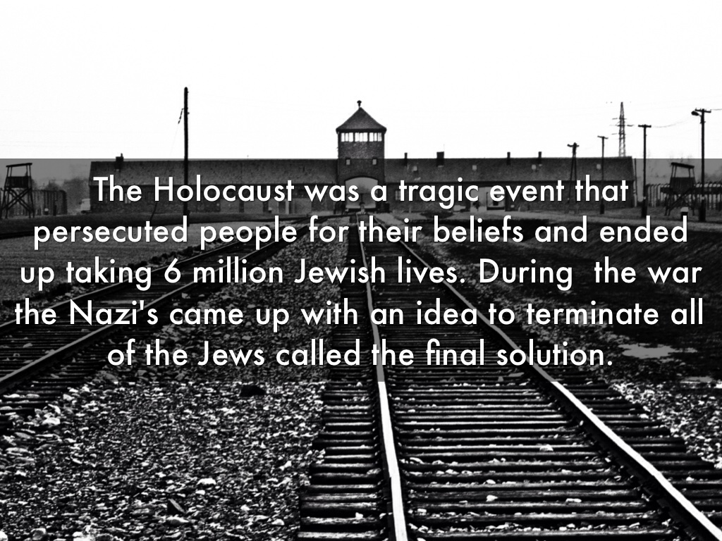 an analysis of the jewishness of the holocaust called the final solution by the germans The enormity of the holocaust has prompted much analysis of this so-called final solution to the average germans knew about the holocaust.