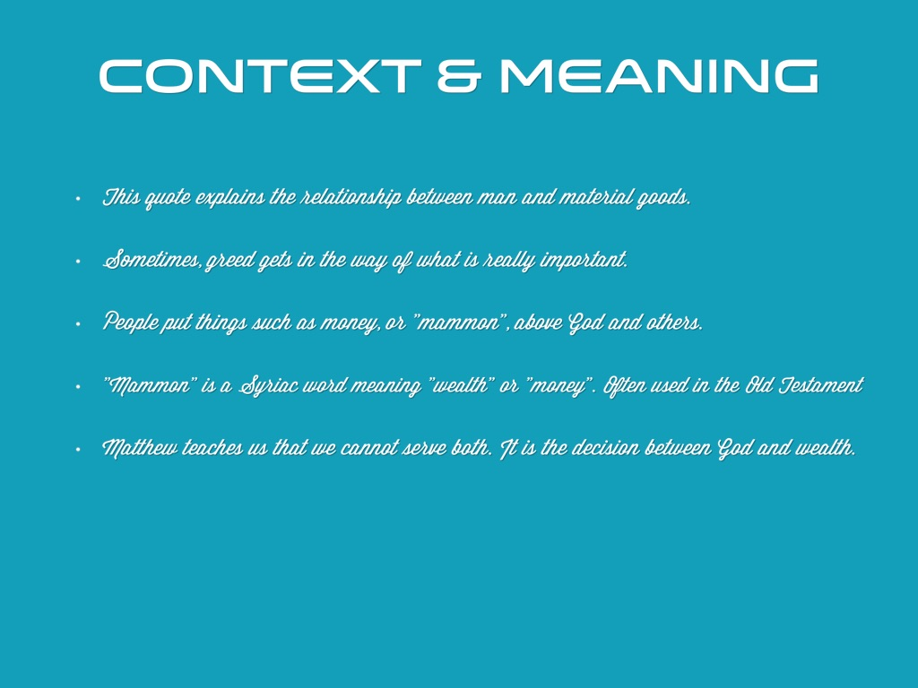 context and meaning Words in context meaning exchange extensions and adaptations make more sentences and meaning cards using target vocabulary (activity master v033am4 and bottom of.