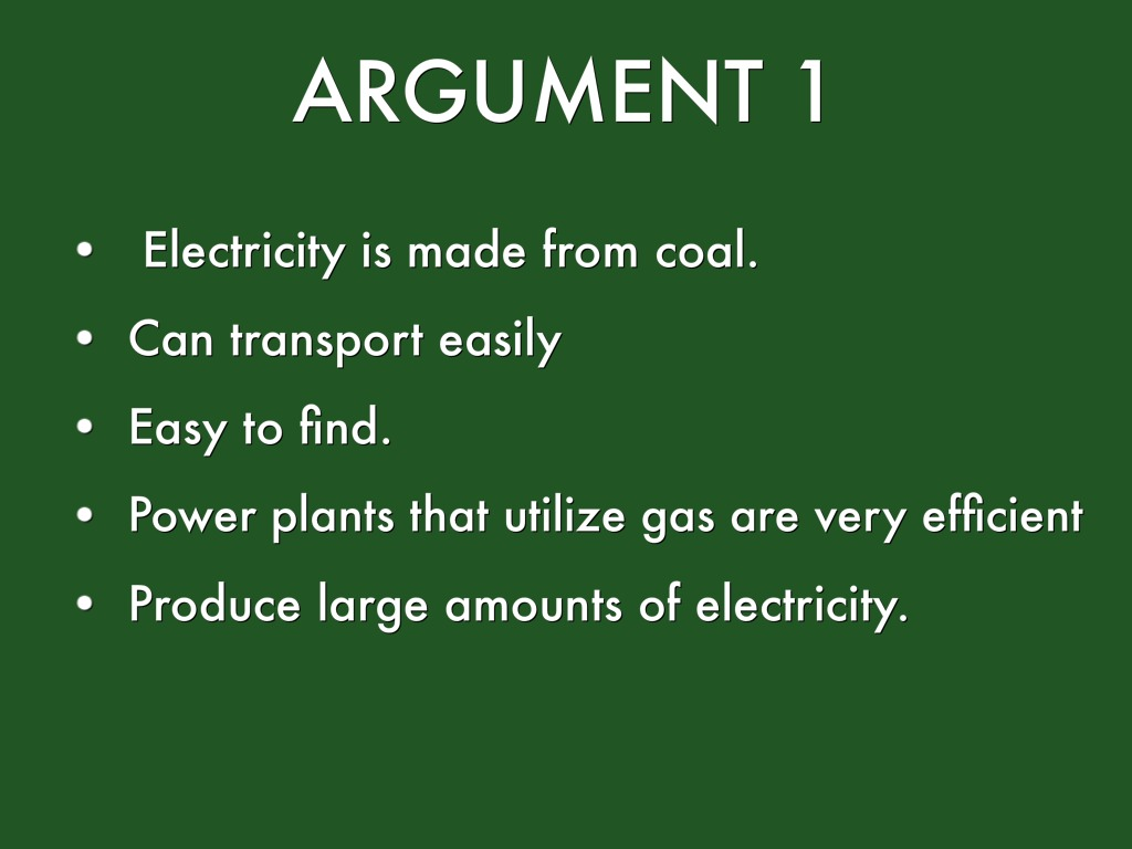 Advantages Of Fossil Fuels by Mckenna Becker