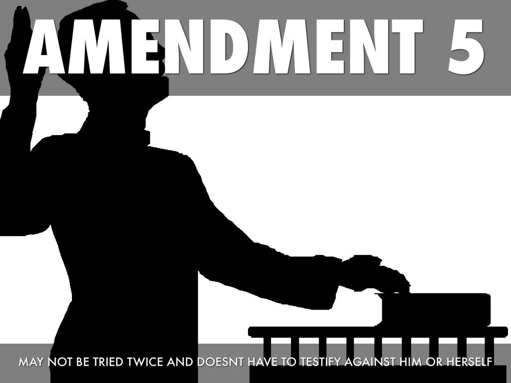 Bill Of Rights Amendments 5