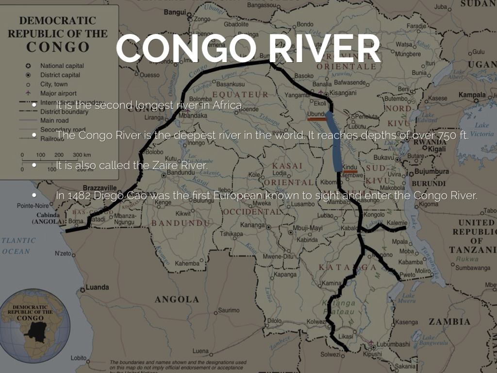 essay congo river Marlow tells the story of his travels up the congo river that makes the setting the congo and more generally, africa check out one of marlow's descriptions.