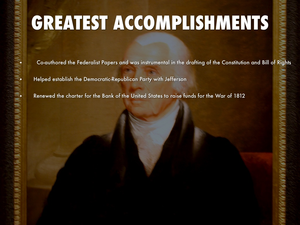 federalist party achievements and shortcomings Jefferson's secretary of state, republican-democrat james madison, emerges  victorious  federalists, opponents of madison's republican party, claimed the.