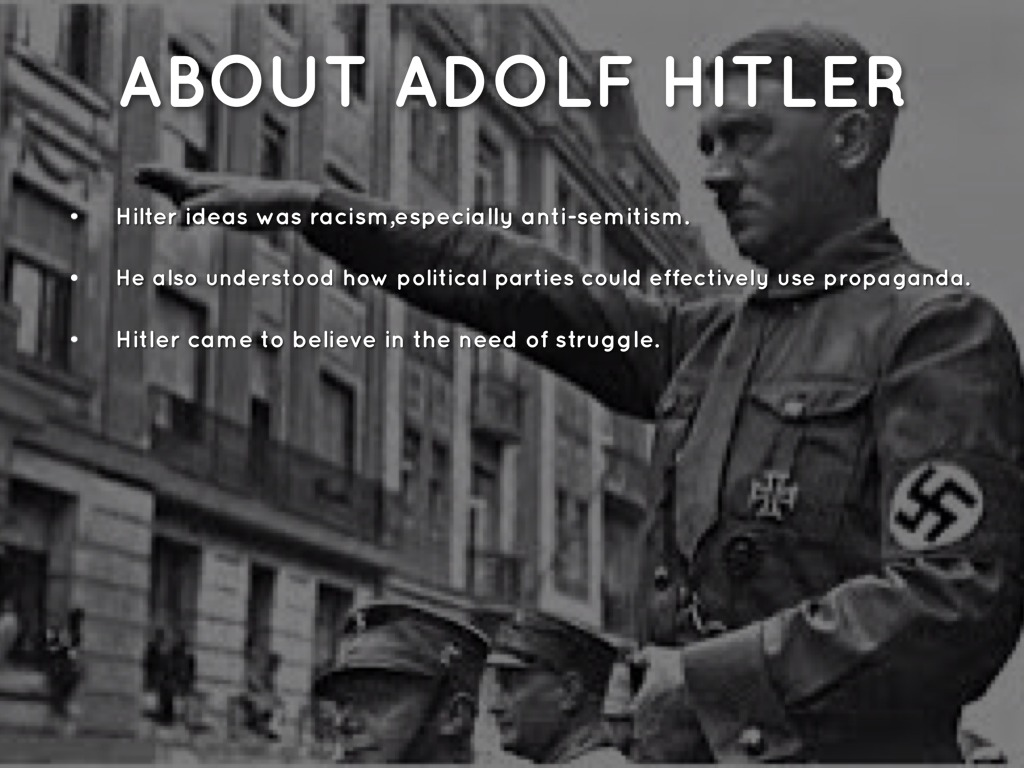 understanding hitlers obsessive ideas about the jews The anti-semitic ideologies of martin luther and adolf hitler in addition to his anti-judaism, martin luther was also highly nationalistic, with many of his undertakings done specifically for the betterment of his fellow german.