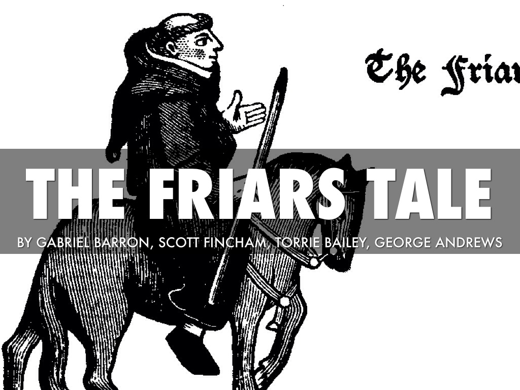 the friars tale