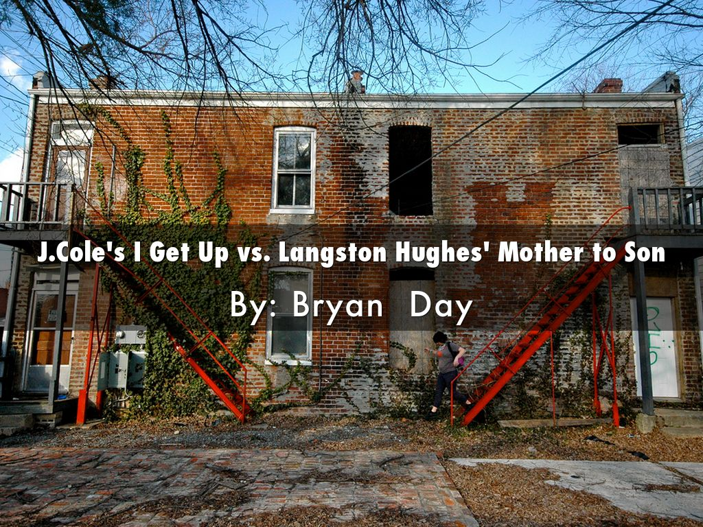 langston hughes crystal stair mother to son
