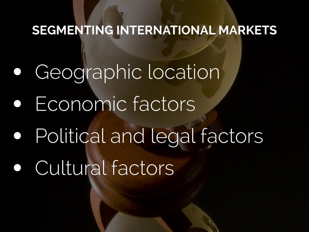 supermarket and international segment Not all individuals have similar needs market segmentation helps the marketers to devise appropriate marketing strategies and promotional schemes according to the tastes of the individuals.