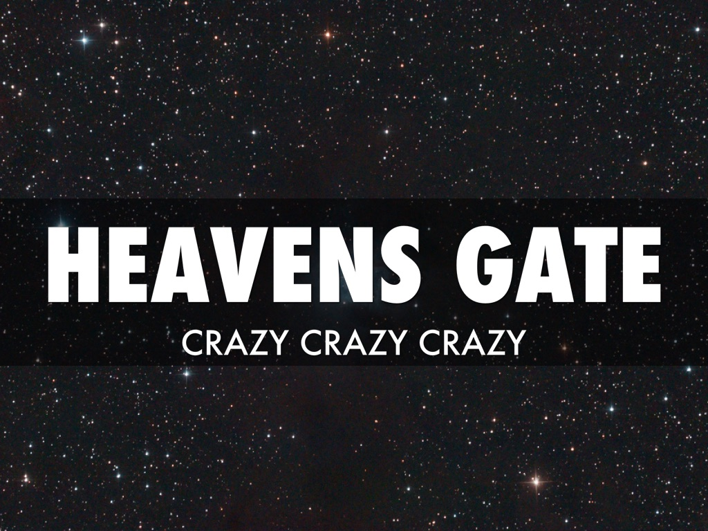 an essay on heavens gate a mass suicide Heaven gate ufo cult, why did they comitt mass suicide heavens gate so as to free their true selves to journey to the next level in the heavens were they.