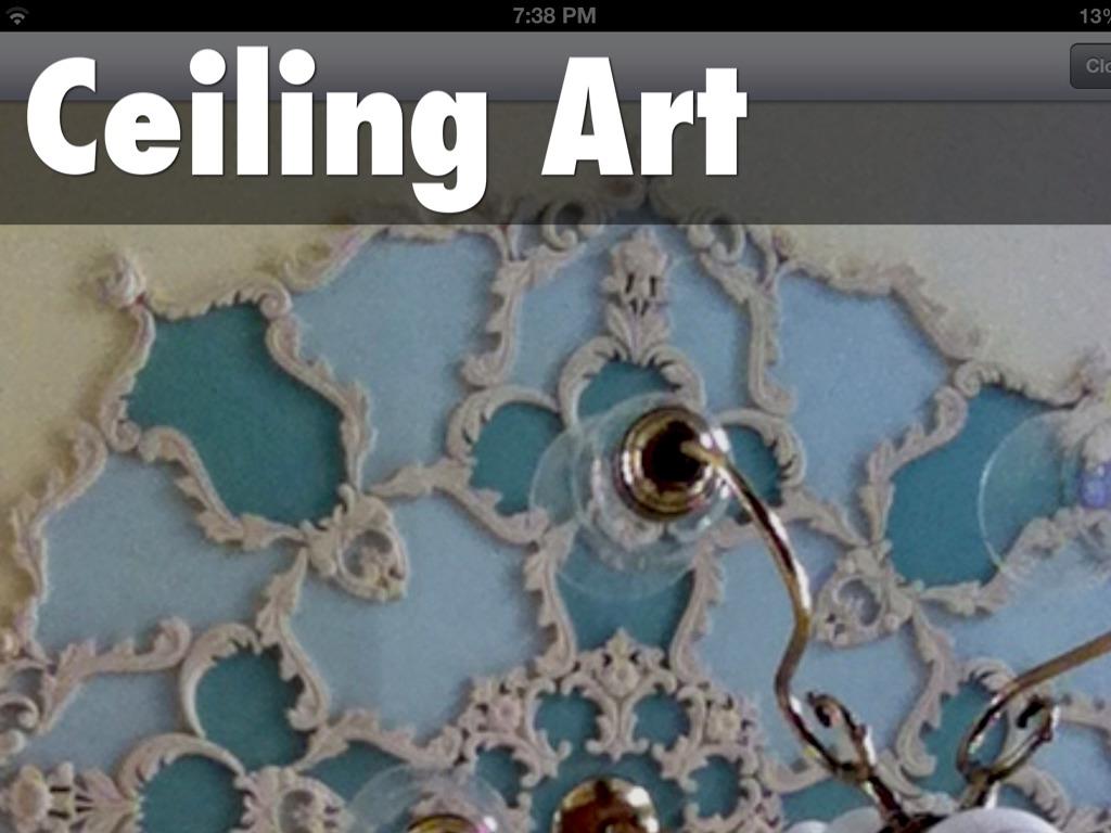 Ceiling Art By Denise Billen Mejia