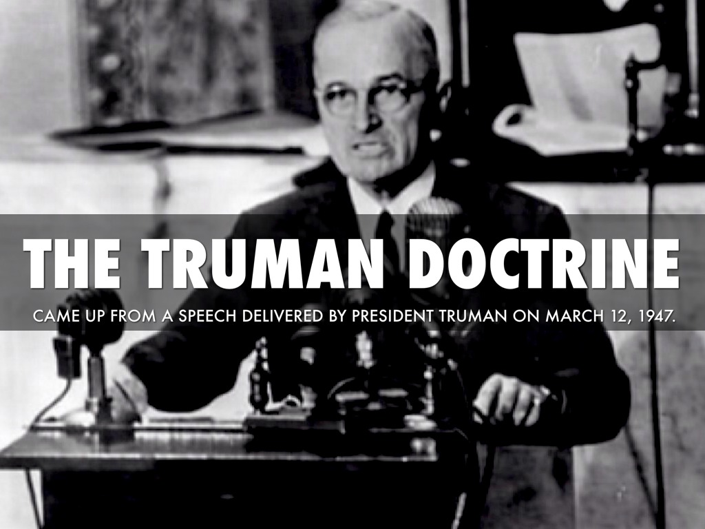 truman doctrine by taylor smith