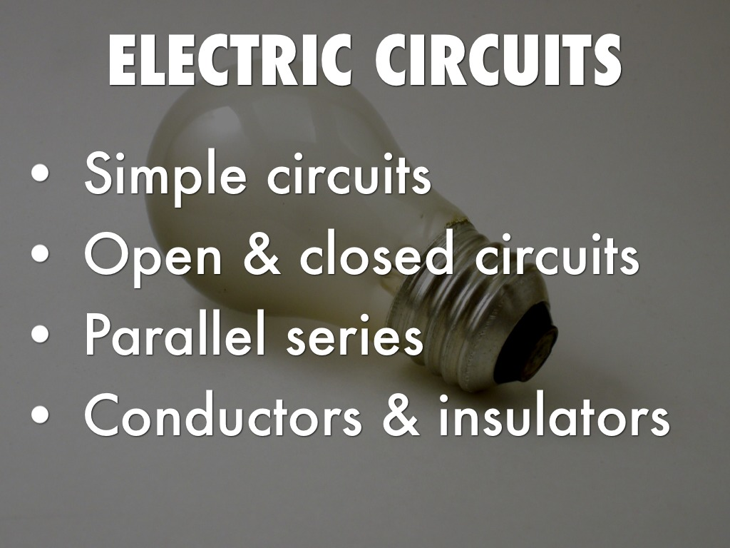 Electric Circuits By Sarah Sleasman In Parallel And Series Slide Refer To Outline