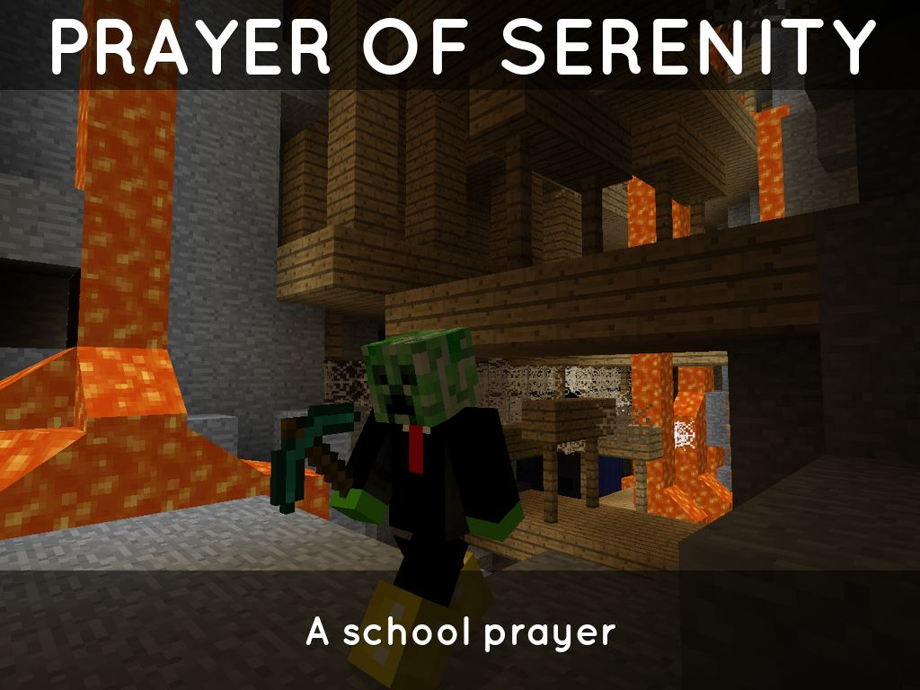 Prayer of Serenity