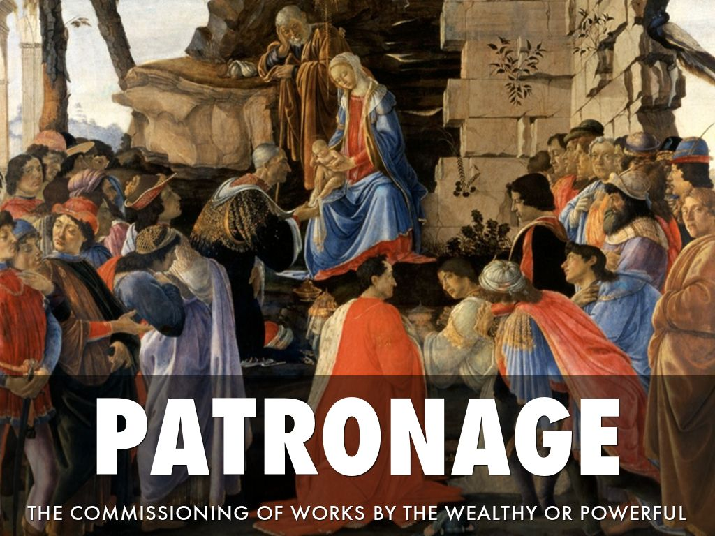 renaissance patronage