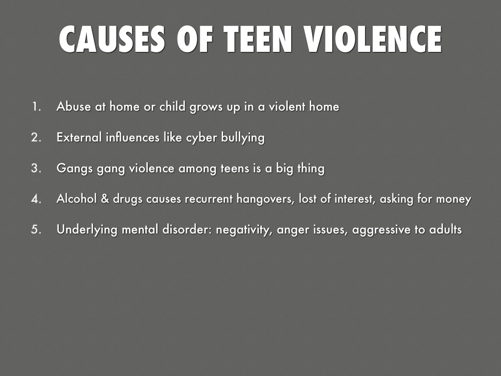 MAJOR ISSUES FACING TEENAGERS
