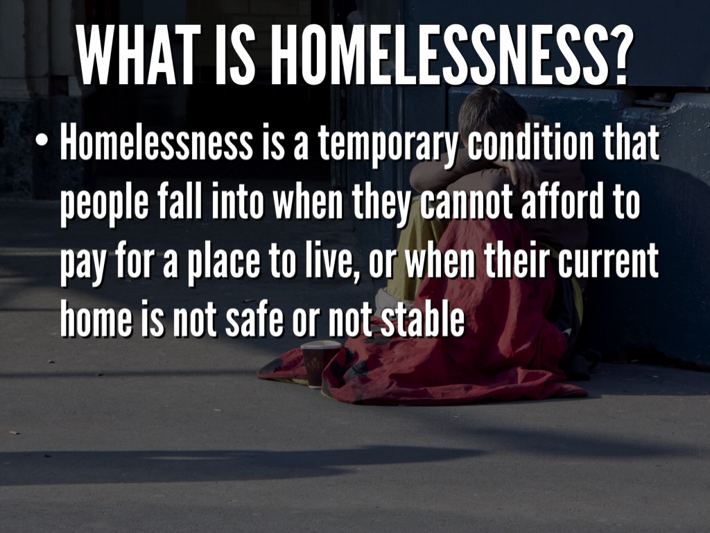 what is homelessness 2018-6-11  who is at risk of homelessness australians of all ages and backgrounds become homeless however, some people are more vulnerable to homelessness.