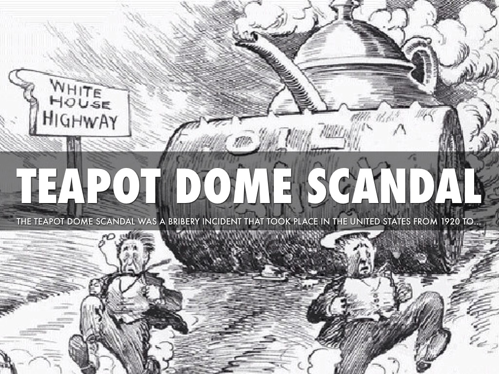 All About United States History Teapot Dome Scandal Kidskunst Info