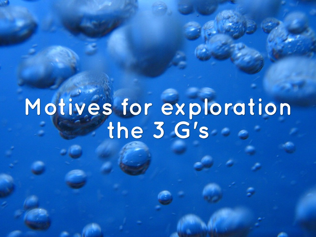 """exploration motives for World history one dbq: global exploration & expansion what were the motivations  analyze the motives that helped start the """"age of exploration."""