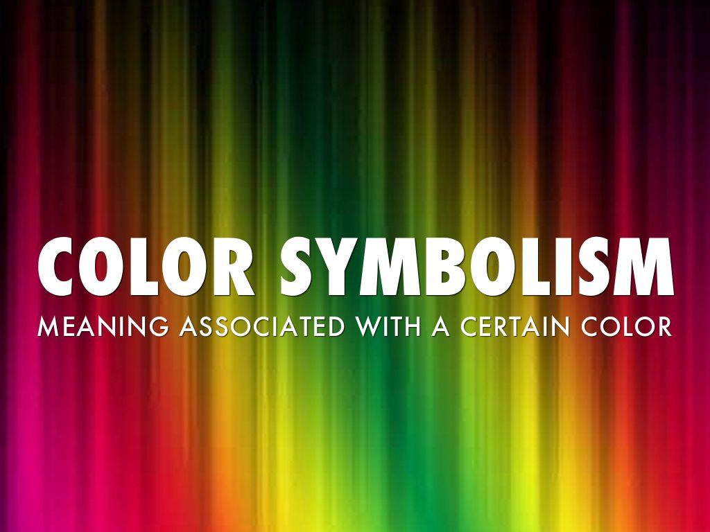 Color symbolism by kendall confer slide notes biocorpaavc Image collections