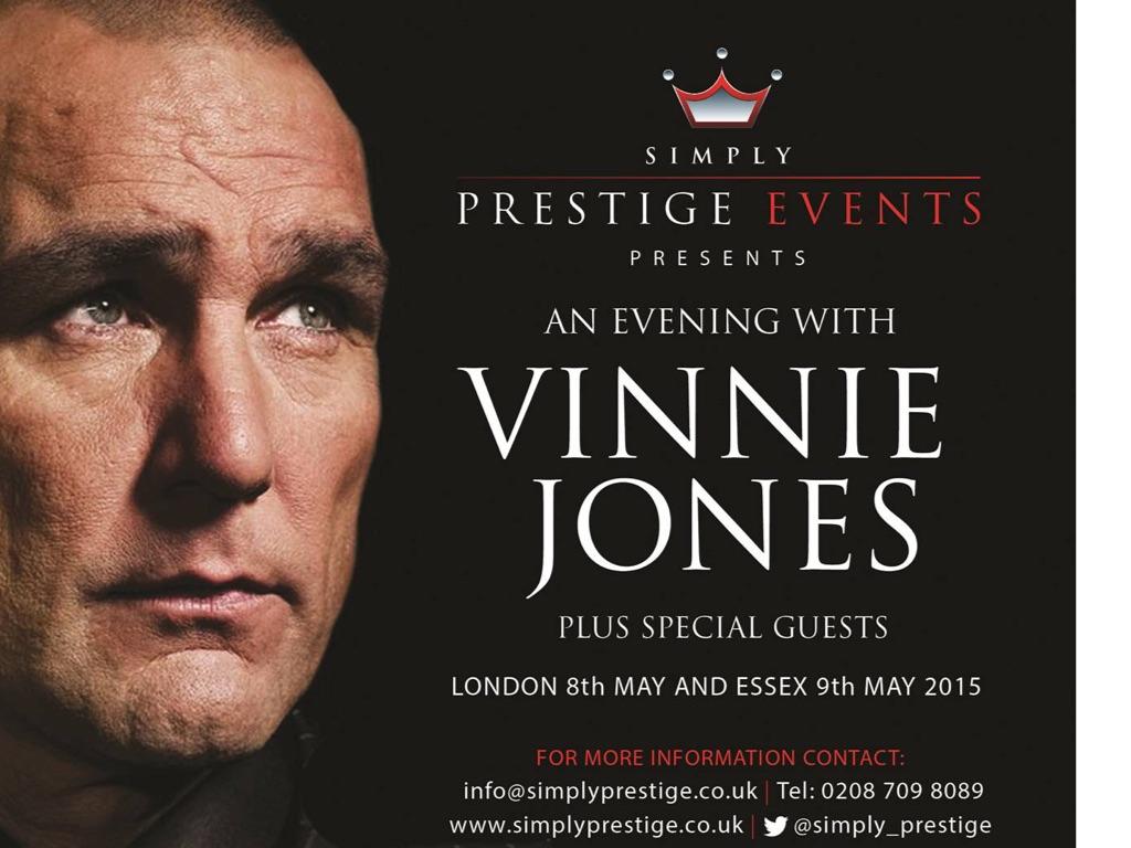An Evening With Vinne Jones