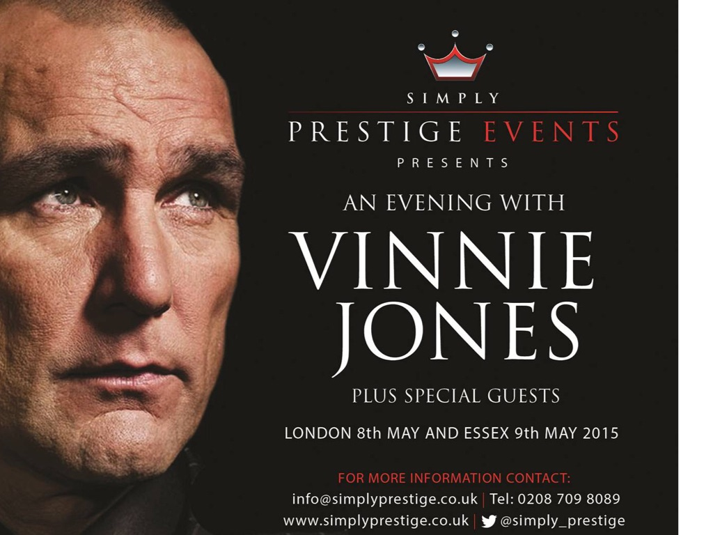 An Evening With Vinne Jones