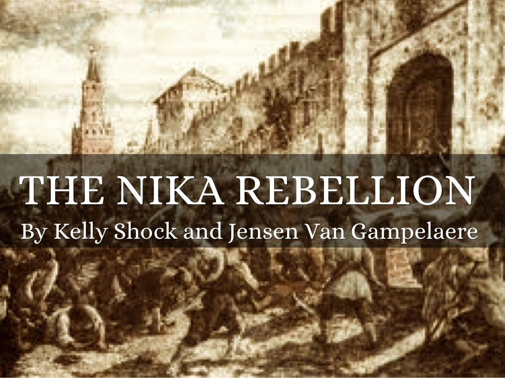nika revolt Once the largest cathedral in the world, the hagia sophia in istanbul but the nika revolt in 532 ce caused widespread death and destruction in the city.
