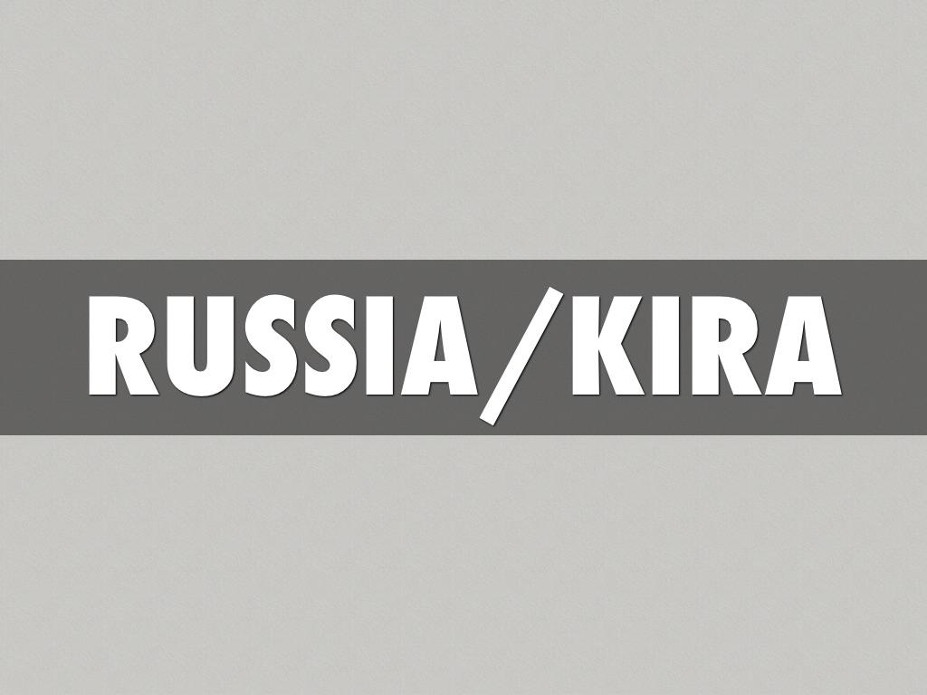 russia/kira