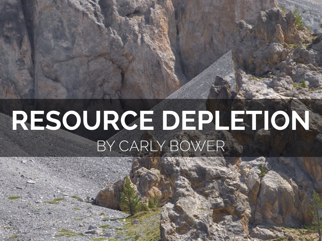 resource depletion by carly